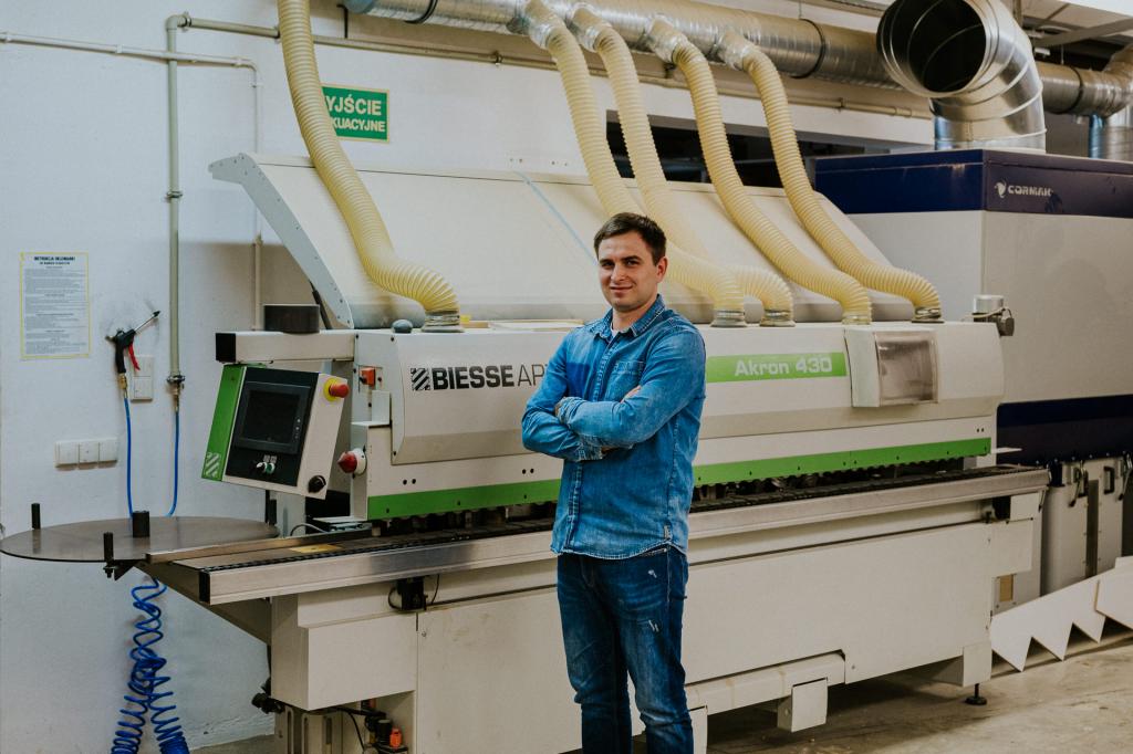 Kolejne inwestycje w firmie – m.in. zakup maszyny okleiniarki Biesse